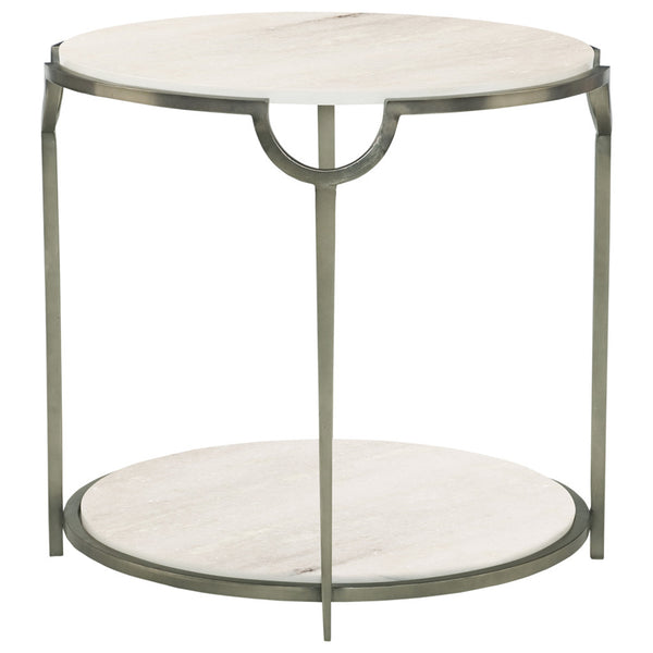 Morello Round Side Table Bernhardt Morello Round Side Table