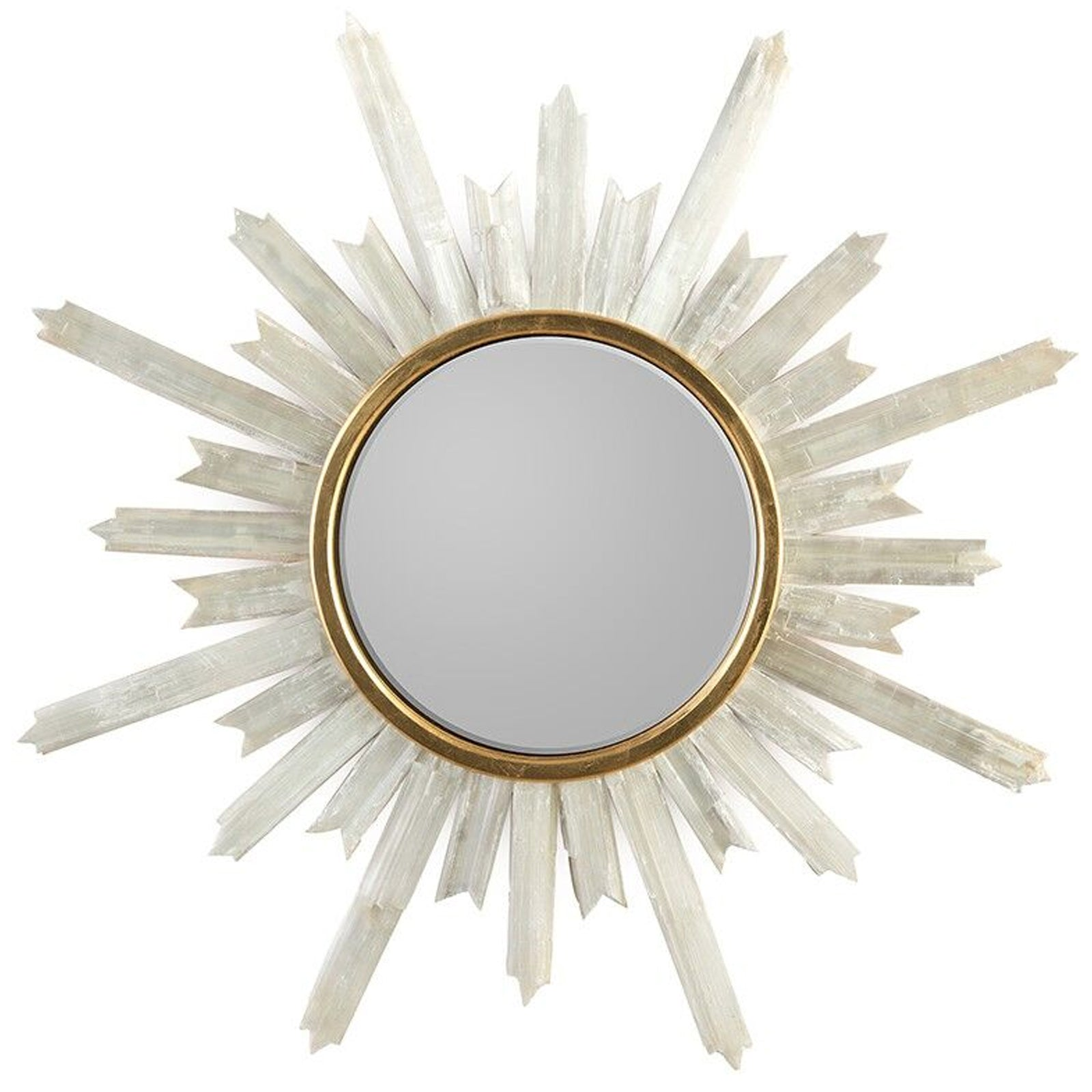 Selenite Starburst Mirror - 9 Best Statement Wall Mirrors To Hang In Your Home - LuxDeco.com