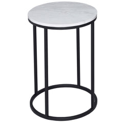 Kentish Round Side Table Highgate Home Black
