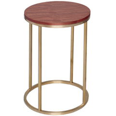 Kentish Round Side Table LuxDeco Kentish Round Side Table | Marble Top | Exclusive to LuxDeco.com