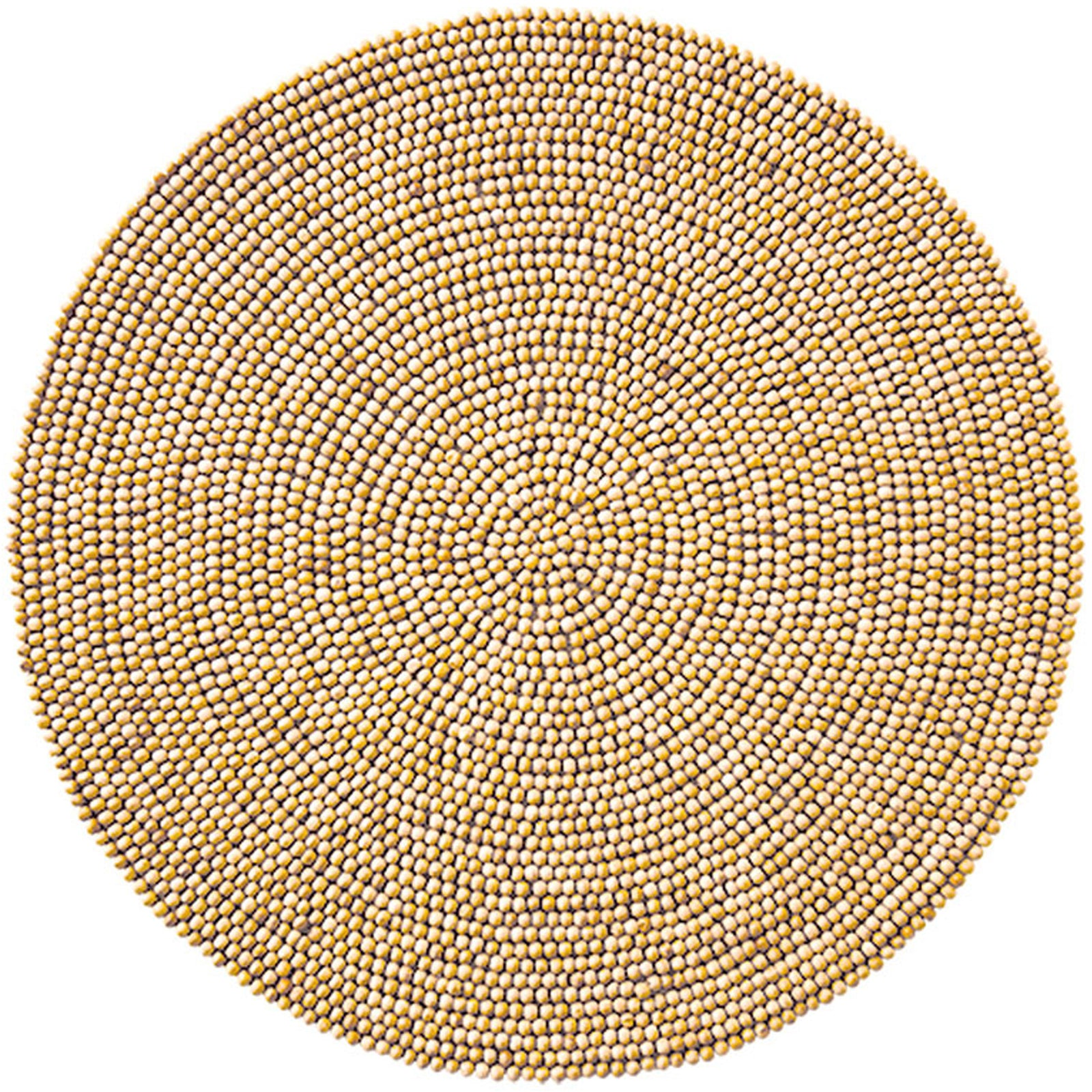 Wood Bead Placemat