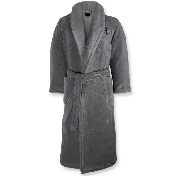 Langdon Bathrobe Ralph Lauren Charcoal