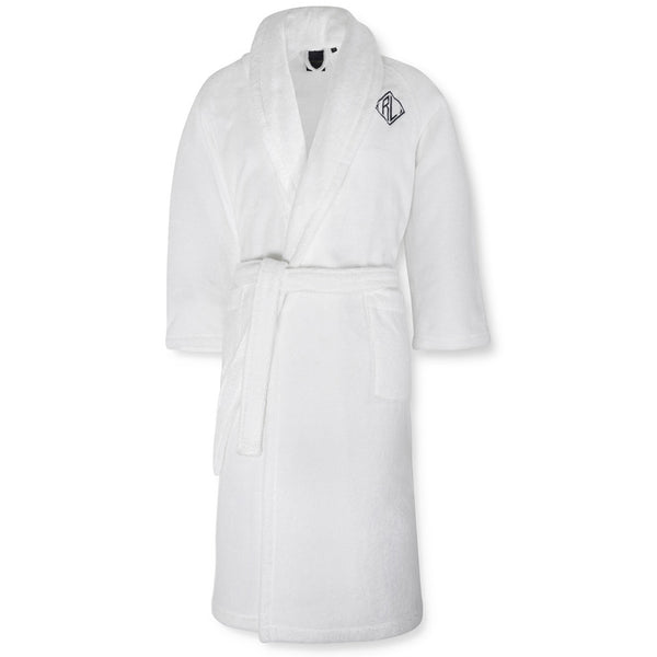 Langdon Bathrobe Ralph Lauren White