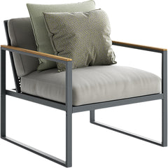 Qubik Armchair Atmosphera Graphite