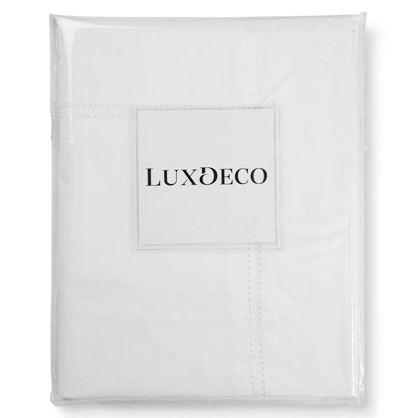 Banbury Double Hemstitch Square Pillowcase LuxDeco Banbury Double Hemstitch Square Pillowcase