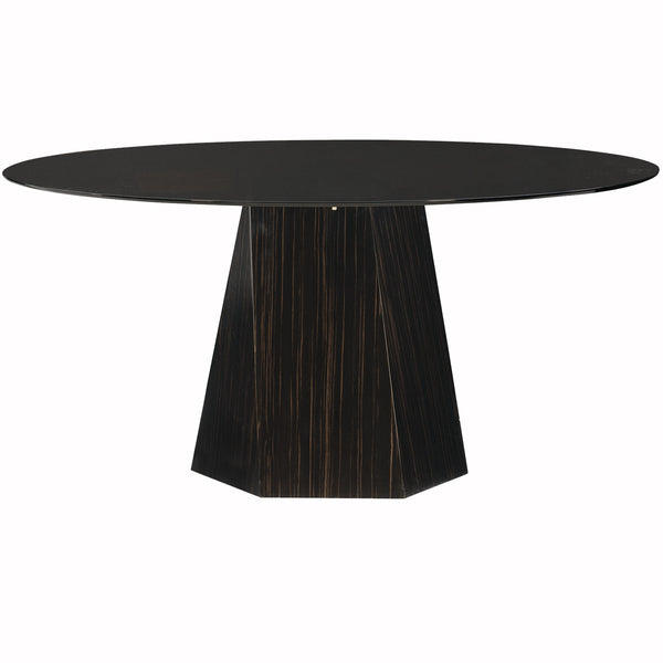 Vector Round Dining Table Caracole Vector Round Dining Table