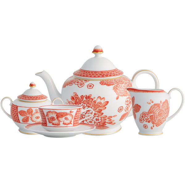 Coralina Tea Set Oscar de la Renta Coralina Tea Set
