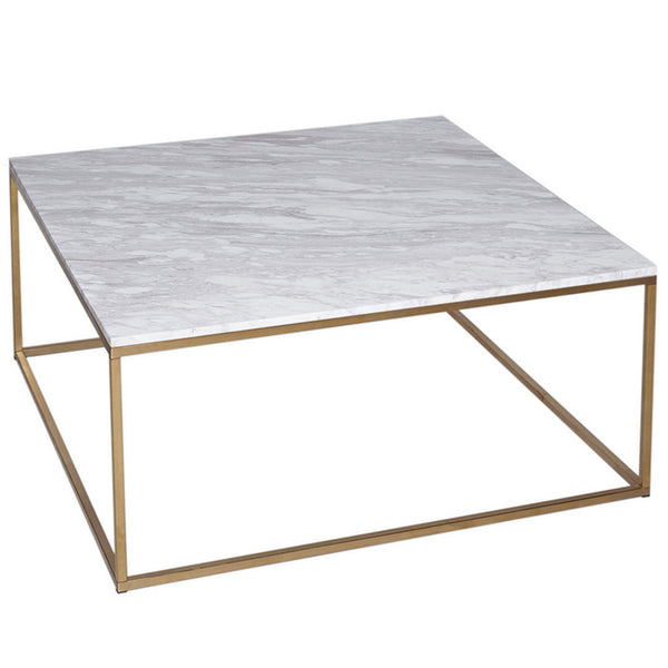 Kentish Square Coffee Table LuxDeco Gold