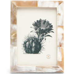 Essen Natural Horn Photo Frame LuxDeco Essen Natural Horn Photo Frame