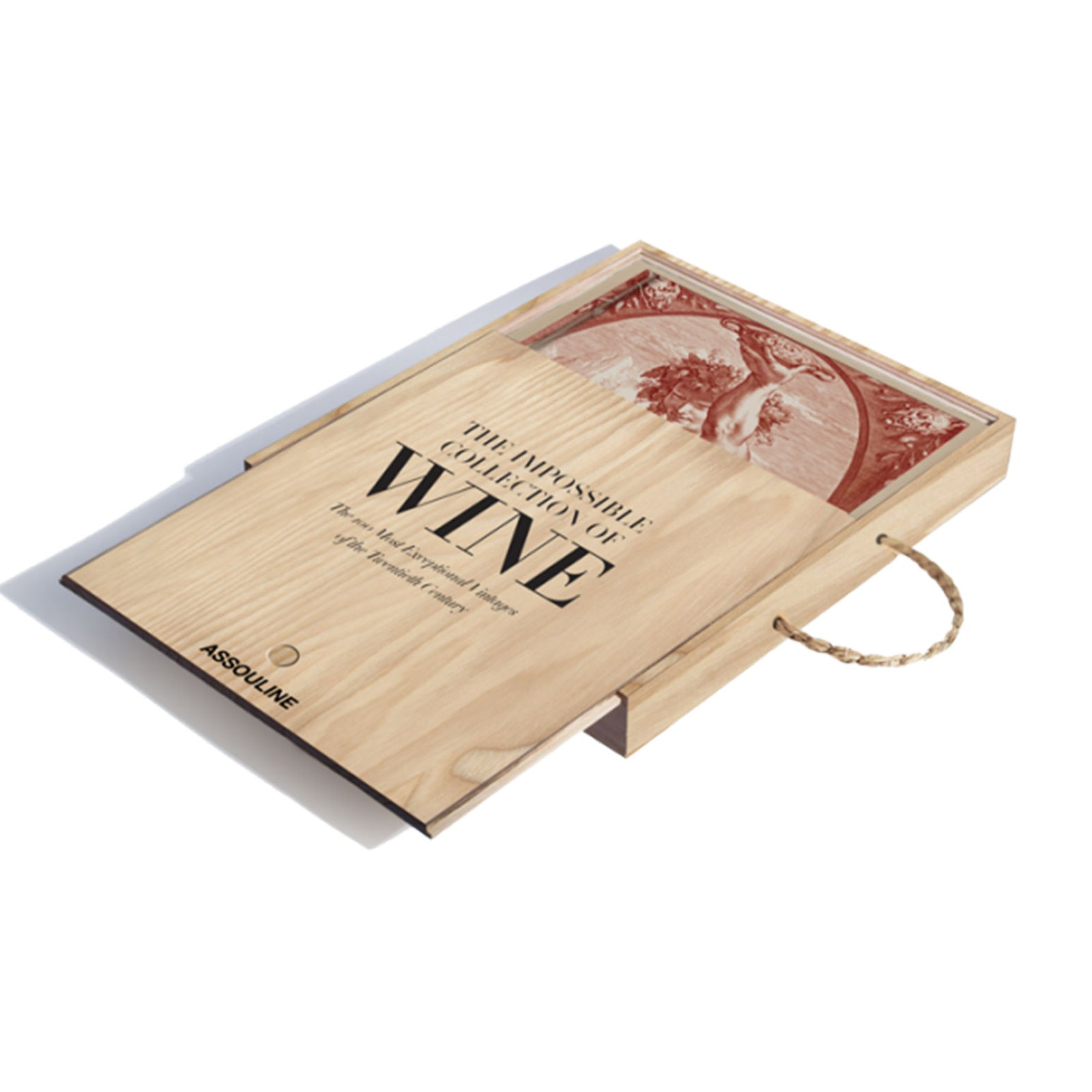 The Impossible Collection Of Wine by Assouline on LuxDeco.com