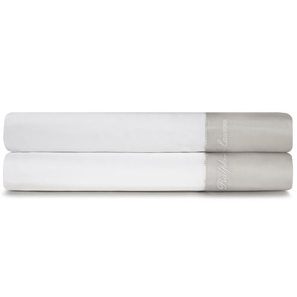 White And Silver Flat Sheet