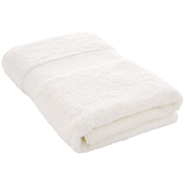 Luxury Egyptian Bath Towel - White Sheridan UK Luxury Egyptian Bath Towel - White