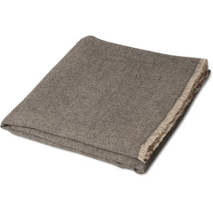 Charcoal Saan Cashmere Throw Oyuna Charcoal