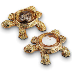 Set of 2 Turtle Spice Jewels L'Objet Set of 2 Turtle Spice Jewels