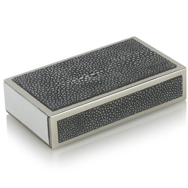 Faux Shagreen Matchstick Box Forwood Design Faux Shagreen Matchstick Box