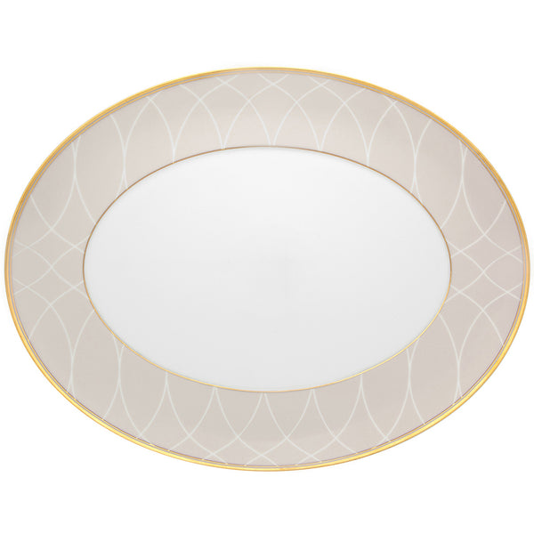 Small Terrace Oval Platter Vista Alegre Small Terrace Oval Platter