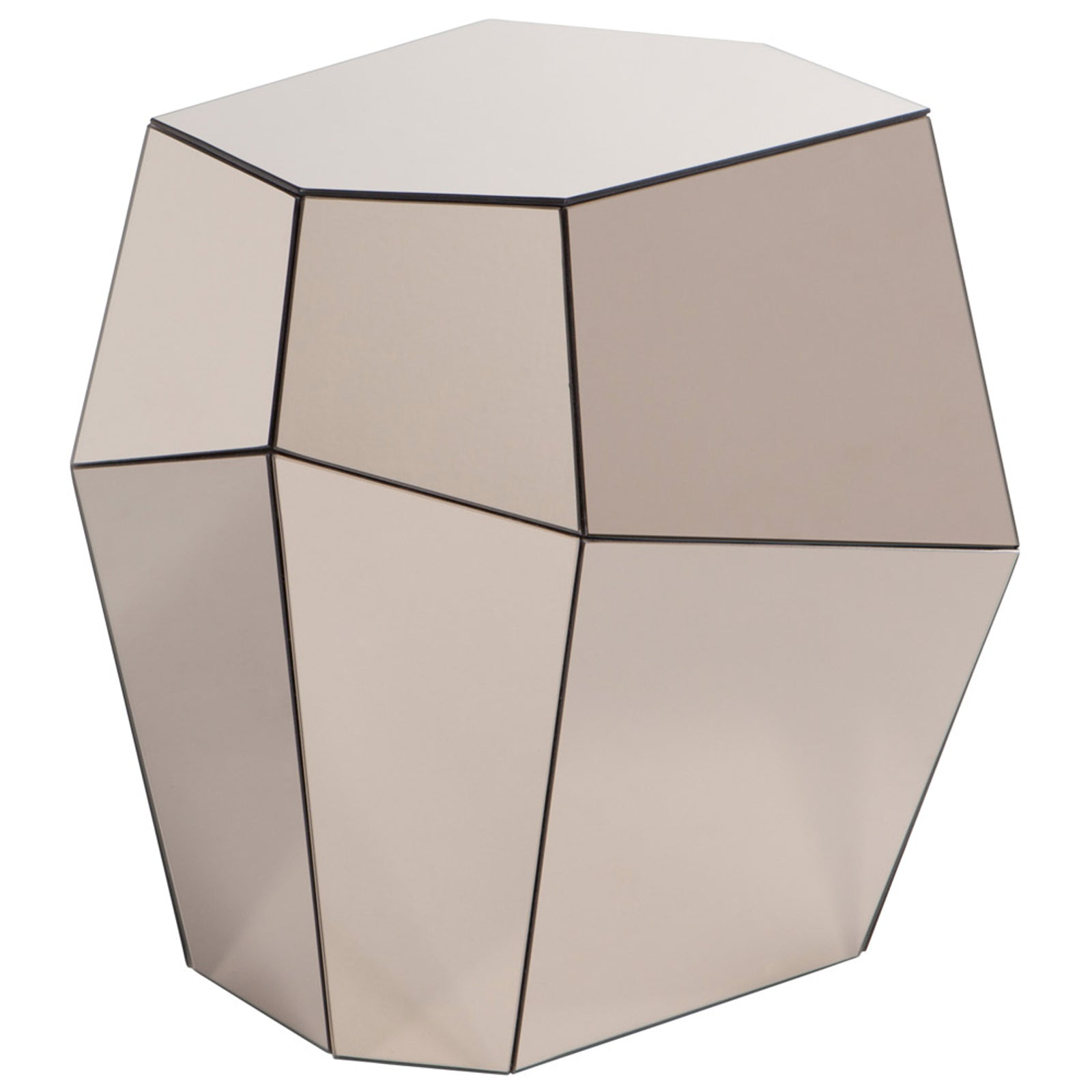 Rock Side Table - High
