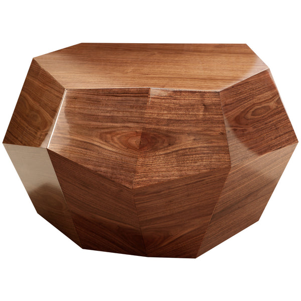 Rock Side Table - Medium Insidherland Walnut