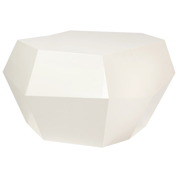 Rock Side Table - Medium Insidherland White