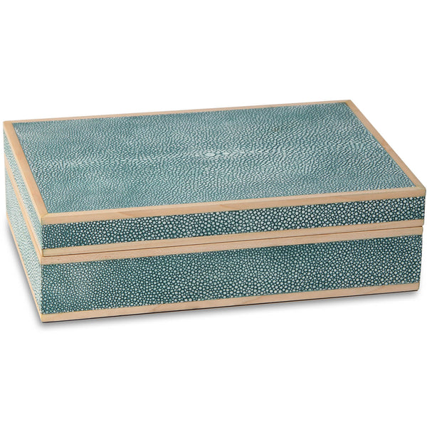 Treasure Box - Teal Forwood Design Treasure Box - Teal