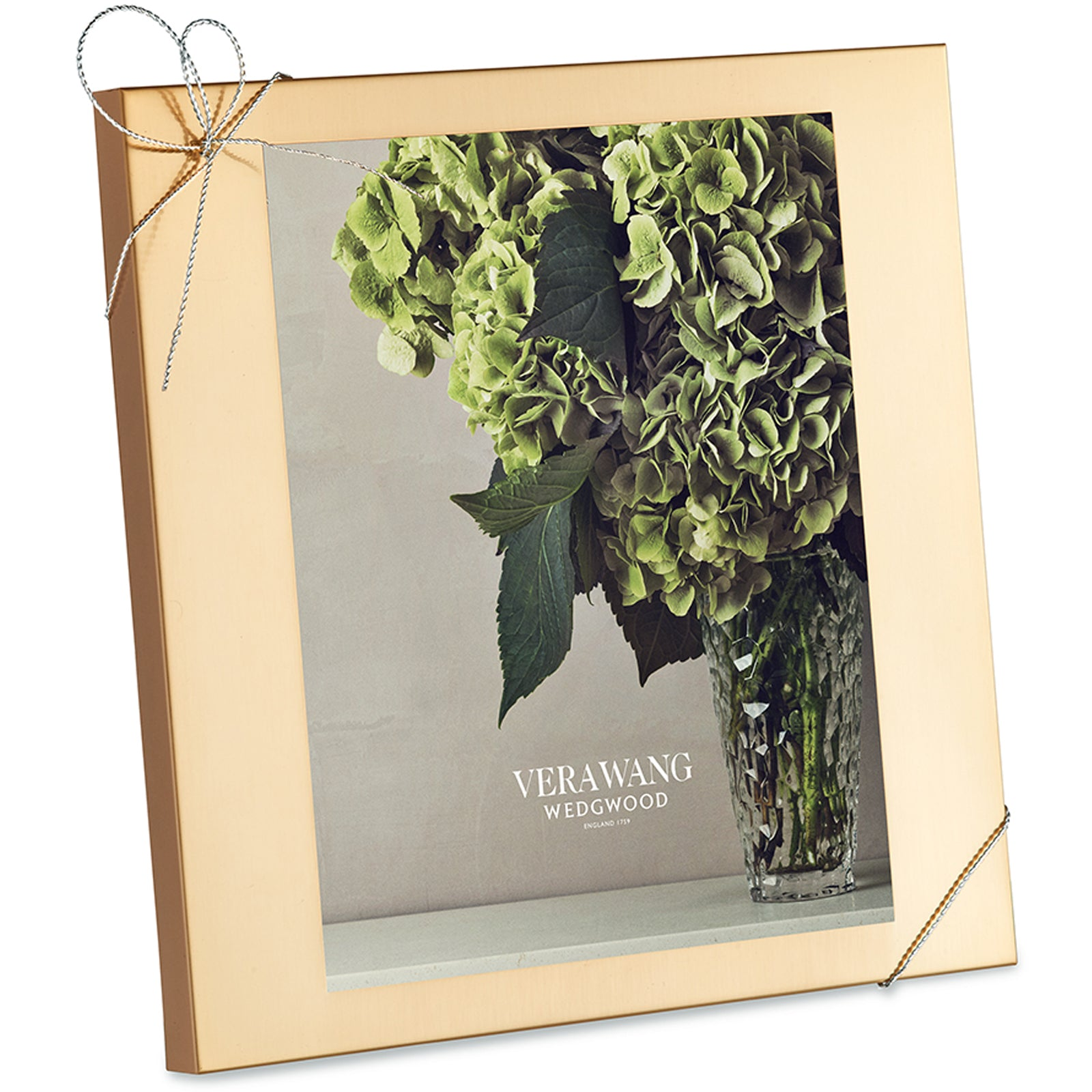 Love Knots Gold Photo Frame by VERA WANG FOR WEDGWOOD on LuxDeco.com