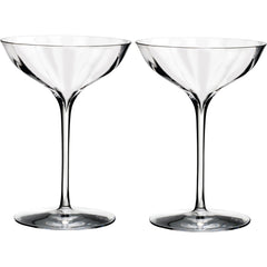 Set of 2 Elegance Optic Champagne Belle Coupe Waterford Set of 2 Elegance Optic Champagne Belle Coupe