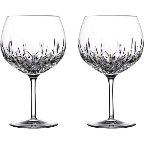 Set of 2 Lismore Gin Balloon Glass