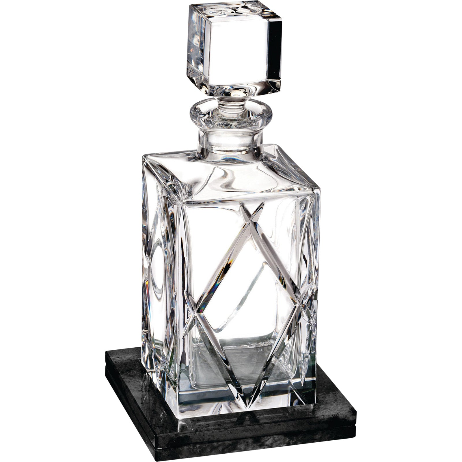 Olann Decanter With Marble Base