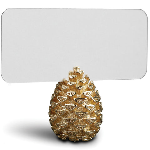 Set of 6 Pinecone Place Card Holders