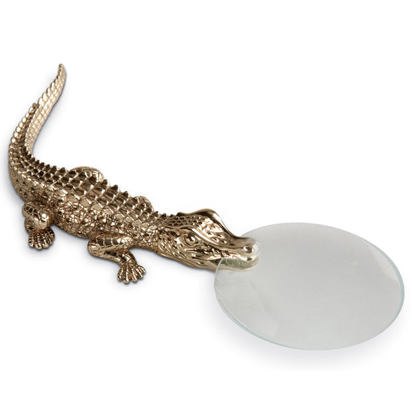 Crocodile Magnifying Glass L'Objet Crocodile Magnifying Glass