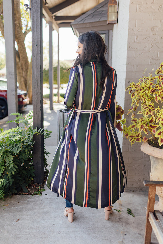 Stripes Duster