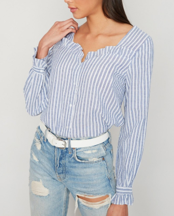 Ruffle Time Top