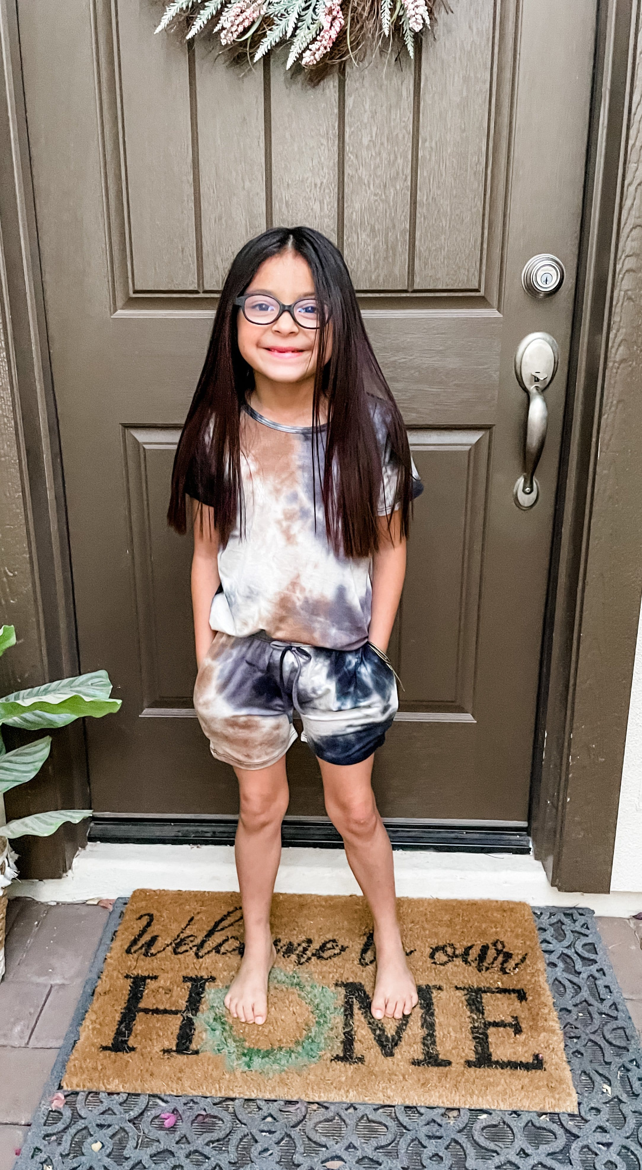 Mocha Dream Tie Dye Kids Set