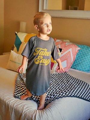 sleep shirts pajamas for boys and girls