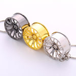 FREE Luxury Metal Rim Keychain Wheel