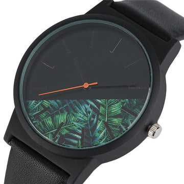 Tropical Jungle Design Quartz Wristwatch
