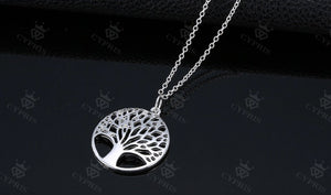 Rose gold Tree Of Life Pendant