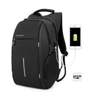 Waterproof USB Charging 15Inch Laptop Backpack