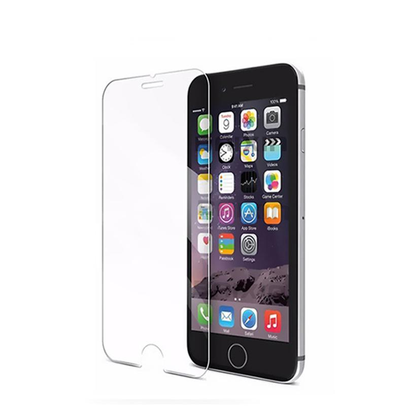 9H Tempered Glass Iphone Screen Protector +Clean Kits