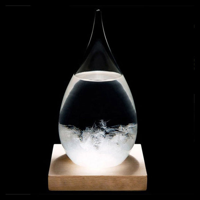Droplet Weather Forecasting Storm Glass