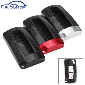 Real Aluminum Base Carbon Fiber Key Case