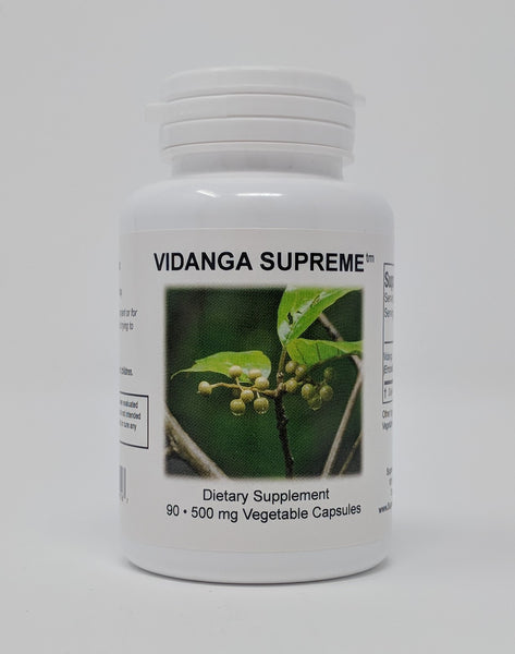New Product Vidanga Supreme helps with parasites, cholesterol, inflammation and methylation.