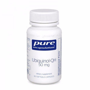 Ubiquinol-QH 50mg 60's by Pure Encapsulations. Active Form of CoQ10. Antioxidant
