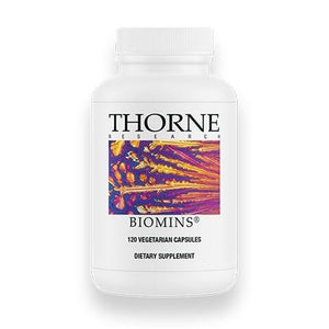 Biomins by Thorne Old Label