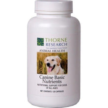 Canine Basic Nutrients by Thorne Old Label