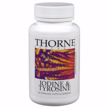 Iodine & Tyrosine by Thorne Old Label