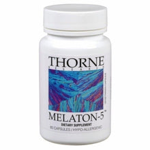 Melatonin-5 by Thorne Old Label