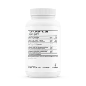 Phytisone by Thorne Label Supplement Facts
