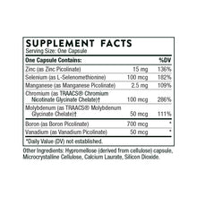 Pic-Mins by Thorne Supplement Facts