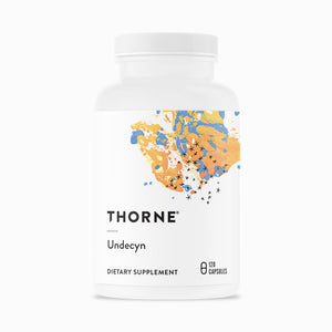Undecyn by Thorne Research. 120 Capsules. For Candida Overgrowth.